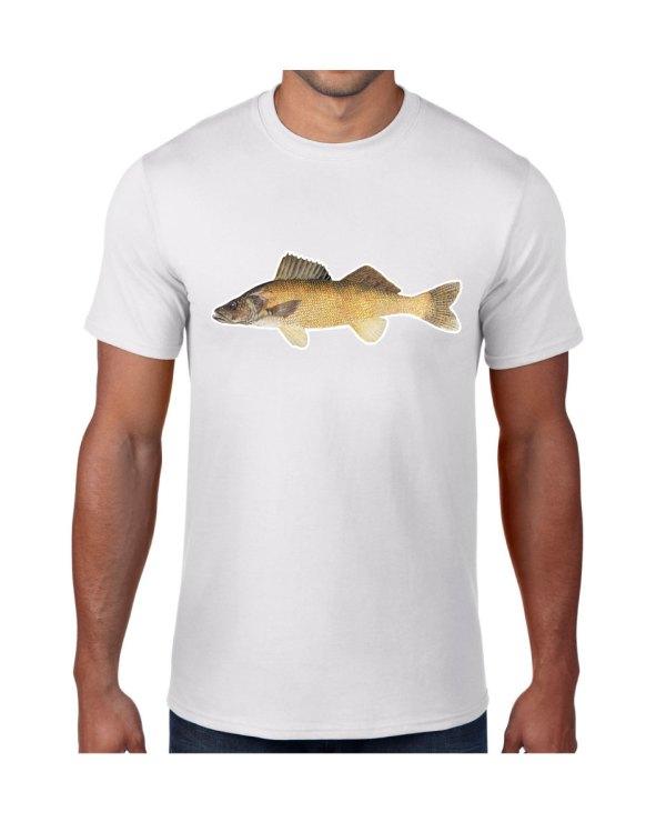 Walleye T-shirt 5.6 oz., 50/50 Heavyweight Blend