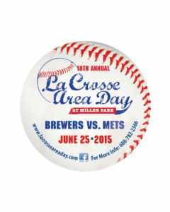 La Crosse Area Days Brewer Game Magnet