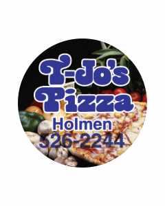 T-Jo's Pizza Magnet