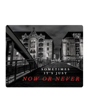 Now or Never Sticker & Magnet