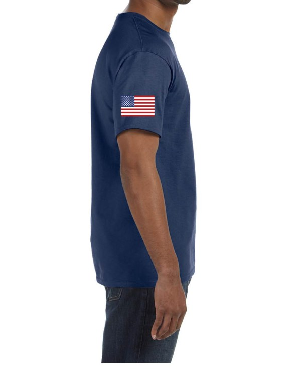 USA Mens Navy Sleeve