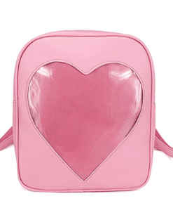 Clear candy bag packs transparent windows backpacks