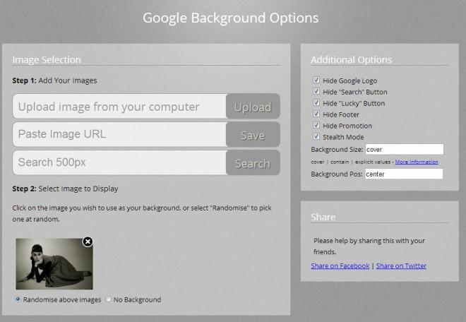 google background wallpaper screenshot
