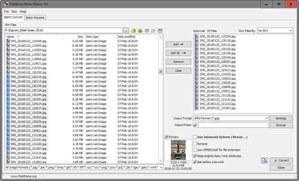 FastStone Photo Resizer review - gHacks Tech News