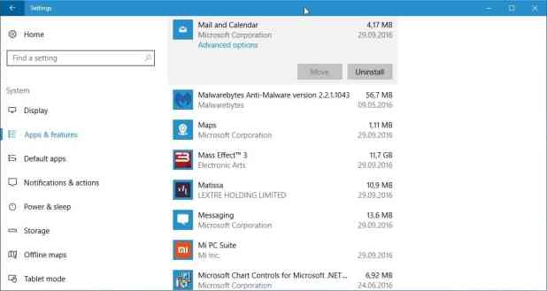 windows 10 uninstall system apps