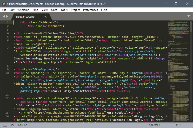 """Résultat de recherche d'images pour """"sublime text 3"""""""