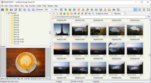FastStone Image Viewer 6.6 is a lot faster - gHacks Tech News