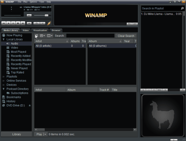 Image result for Winamp 5.8 Build 3660