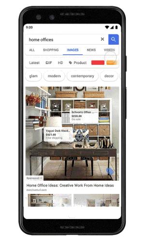 google images shoppable ads