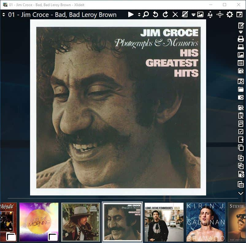 XlideIt Image Viewer - lecteur audio
