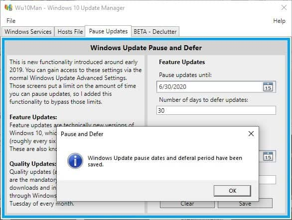 Wu10Man is an open source tool for disabling Windows 10 ...