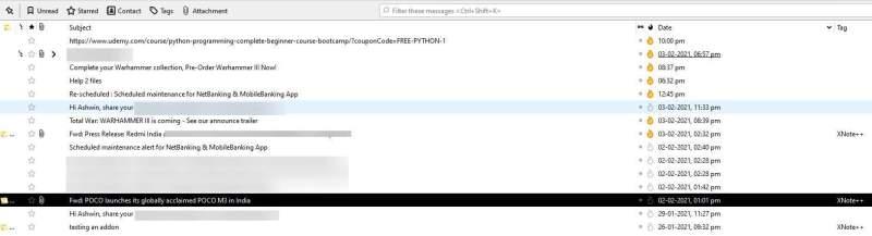 Aggiungi post-it alle tue e-mail in Thunderbird con l'estensione XNote ++