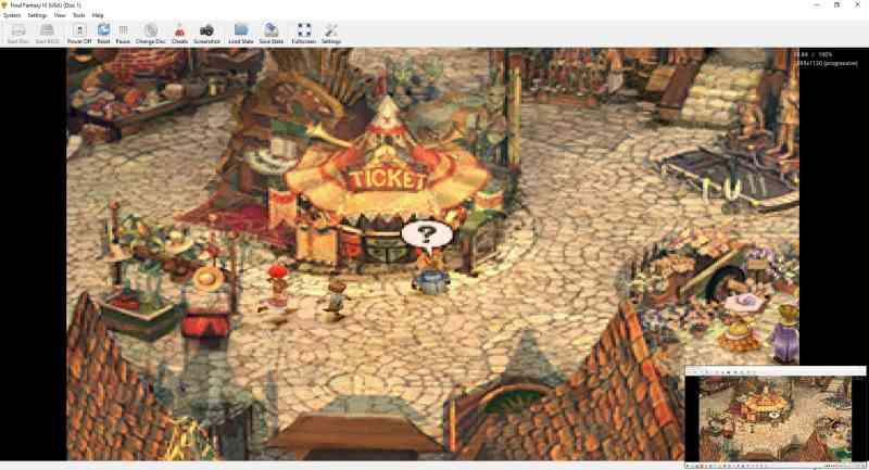 Esempio di emulatore di Duckstation