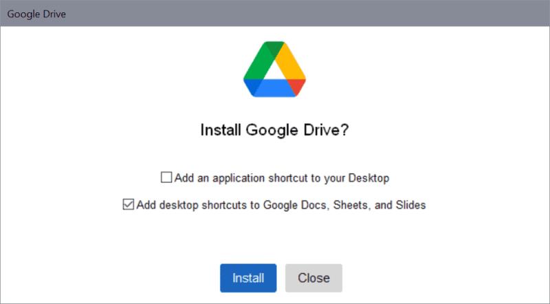 google drive per desktop