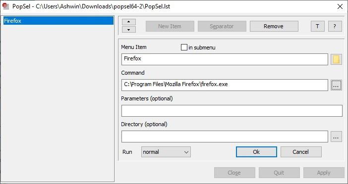 Popsel aggiunge una nuova scorciatoia