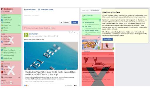 Social Fixer per l'estensione Facebook per Chrome