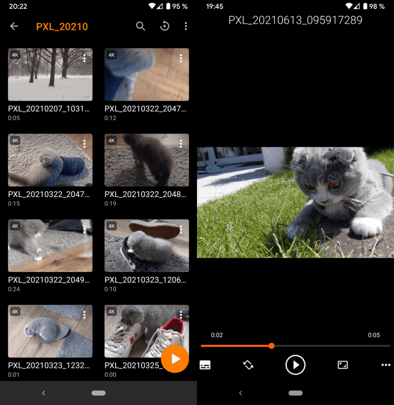 lettore multimediale vlc Android 3.4