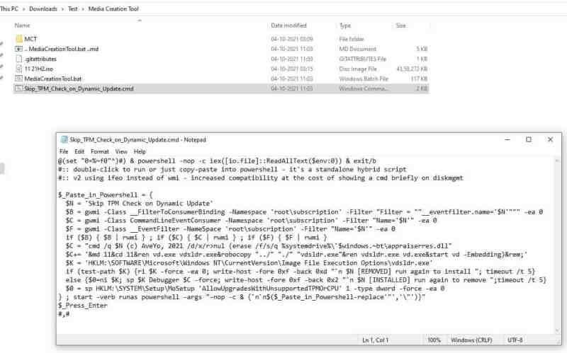 Come installare Windows 11 senza TPM 2.0