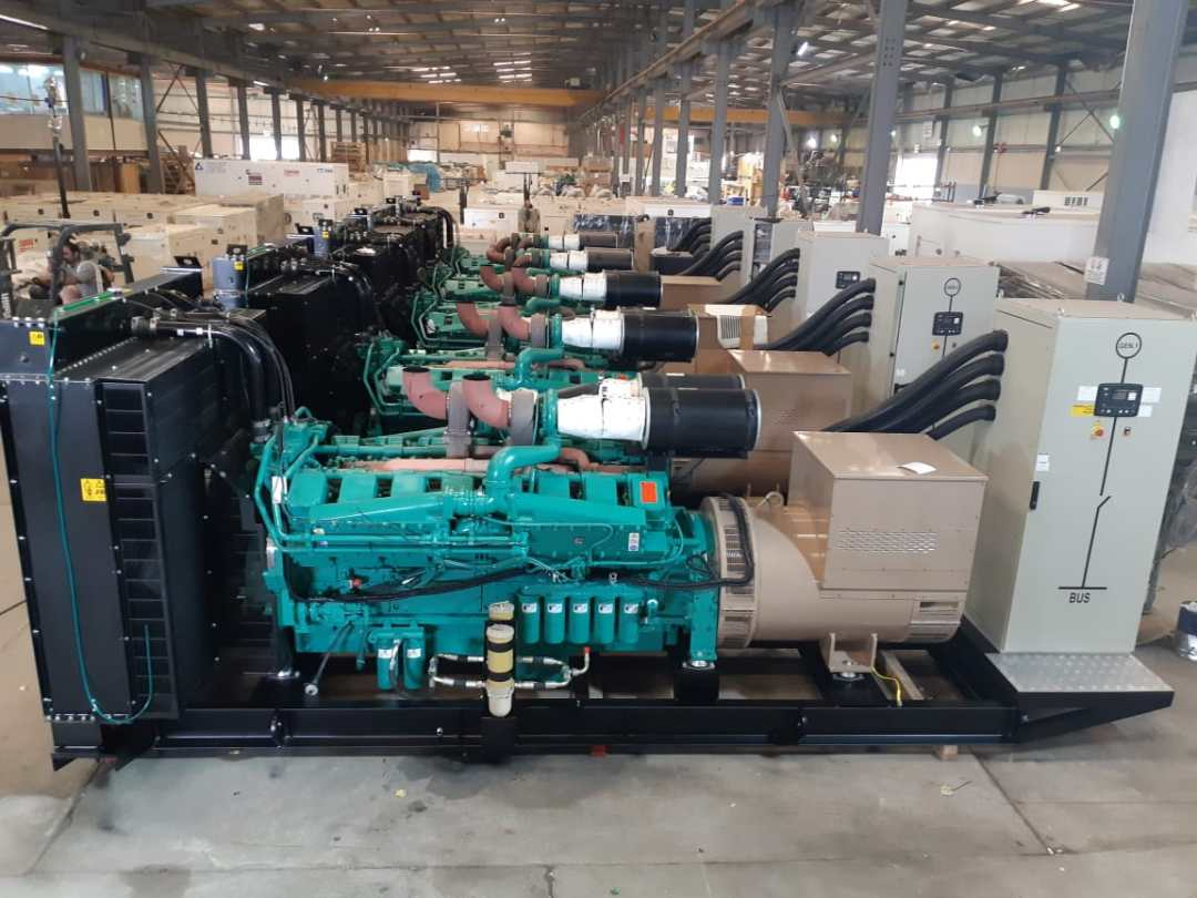 Ghaddar Machinery Powering 20MW Power Station in the Middle East