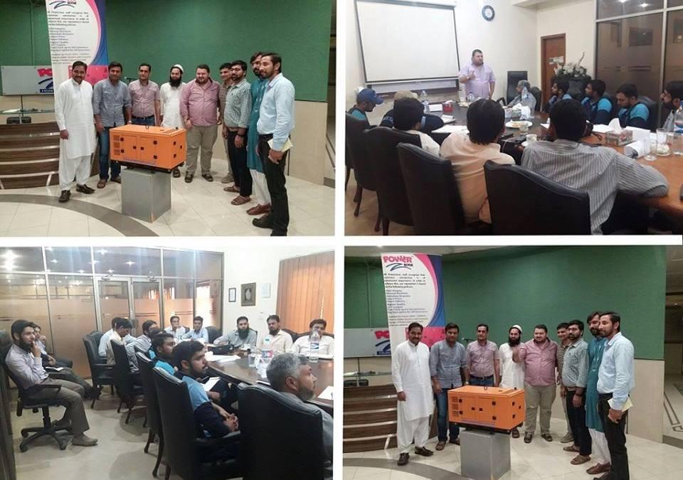 Customers Training in Pakistan.