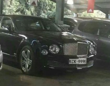 Lanes! Unsung Kenyan millionaire spends 32 million shillings to buy the Queen's car in this Njaanuary (Photos)