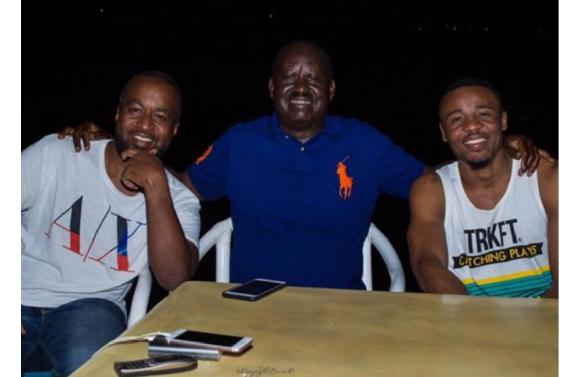 IMG_8420 AliKiba sent for private jet by Raila and Joho