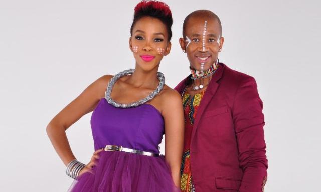 Nhlanhla Nciza and Theo Kgosinkwe of Mafikozolo