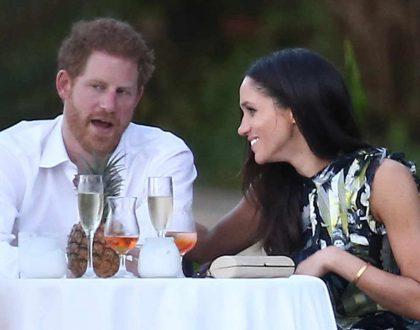 Prince Harry & Meghan Markle share their engagement Photos