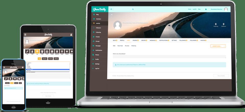 Ghana Social Network Ghana Buddy showcase case of multimedia applications
