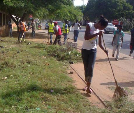 articles on sanitation in ghana
