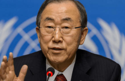 Ban Ki-moon's message on Africa Day 2016