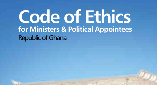Code of ethics for Ministers and Political Appointees in Ghana