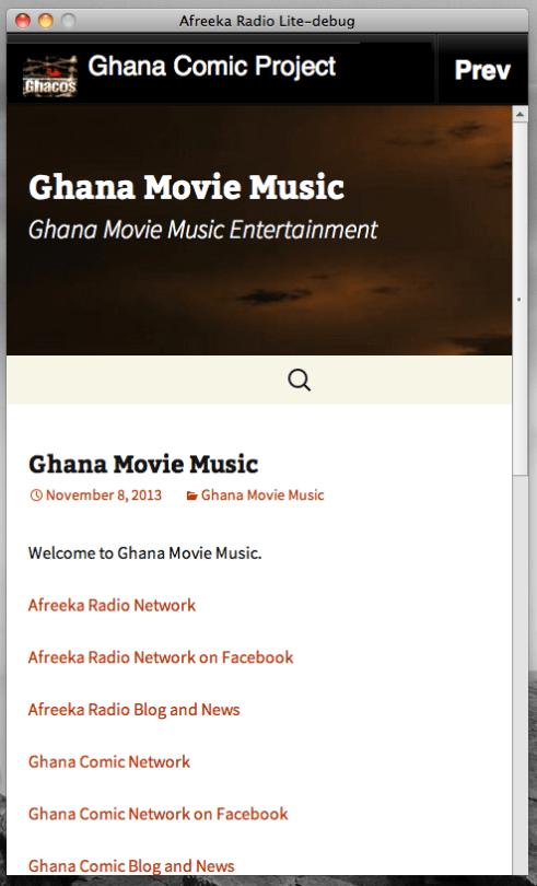 Ghana Movie Music Mobile