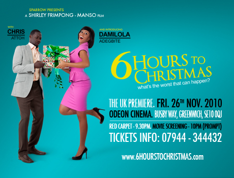 6 Hours To Christmas Premiere In London