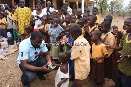 John Dumelo Making Donations On His Birthday