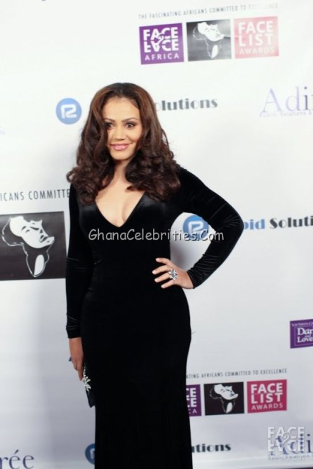 Nadia Buari At 2011 Face List Awards In New York