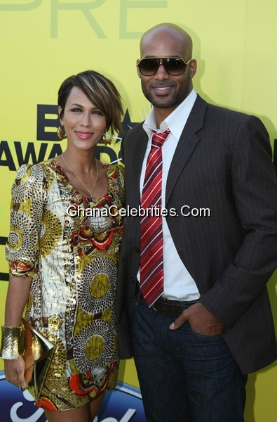 Hollywood power couple Boris Kodjoe and actress Nicole Ari Parker
