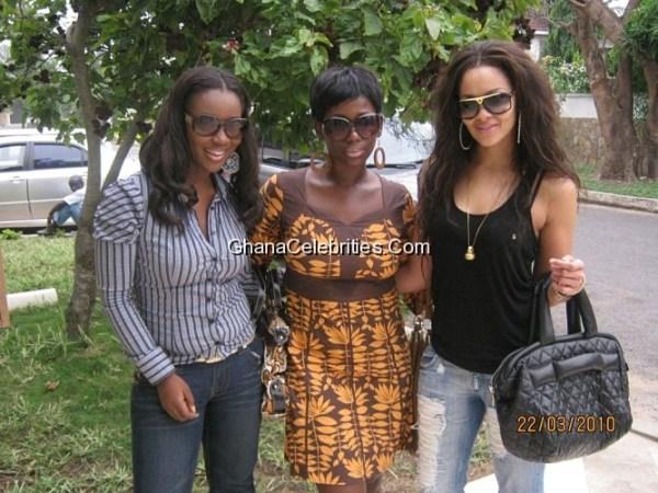 Jackie Appiah, Ama K Abebrese And Menaye Donkor