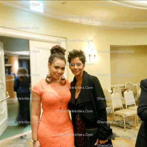 Nadia Buari And Halle Berry