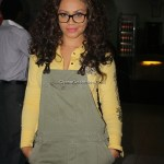 Nadia Buari after the press preview