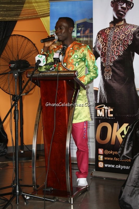 Okyeame Kwame Launches The Versatile Show