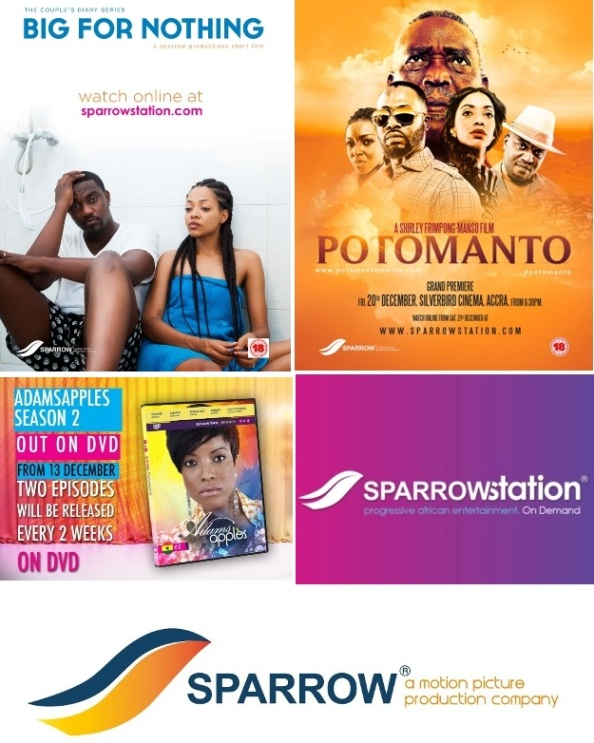'Sparrow Productions' Launches 4 Big Things