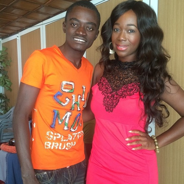 Ama K Abebrese and Lil Win