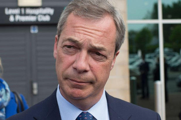 UKIP leader-Nigel Farage