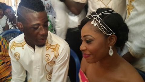 Afriyie Acquah and wife-Amanda