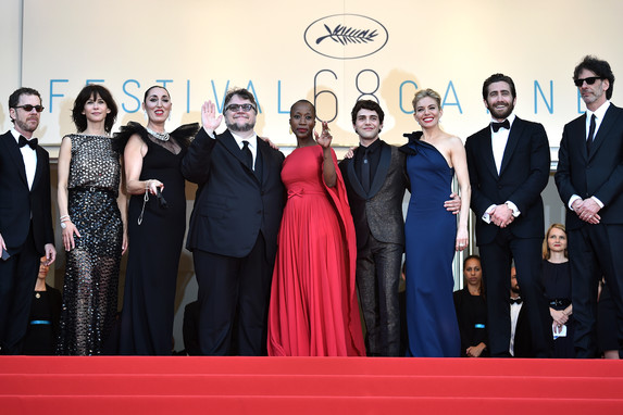 Feature Films Jury - Open ceremony-AFP -Valery Hache