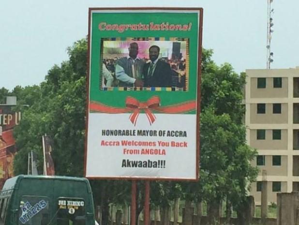 Mayor of Accra Billboard