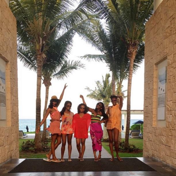 genevieve-nnaji-friends-vacation-mexico