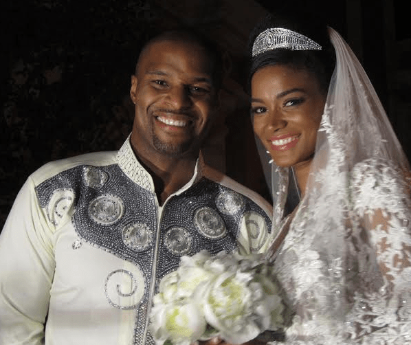 Miss Universe-Leila Lopes and husband