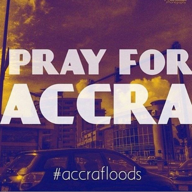 Pray for Accra